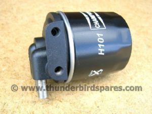 Oil Filter & Mounting Head, Commando & Classic Bike Use, 06-3139